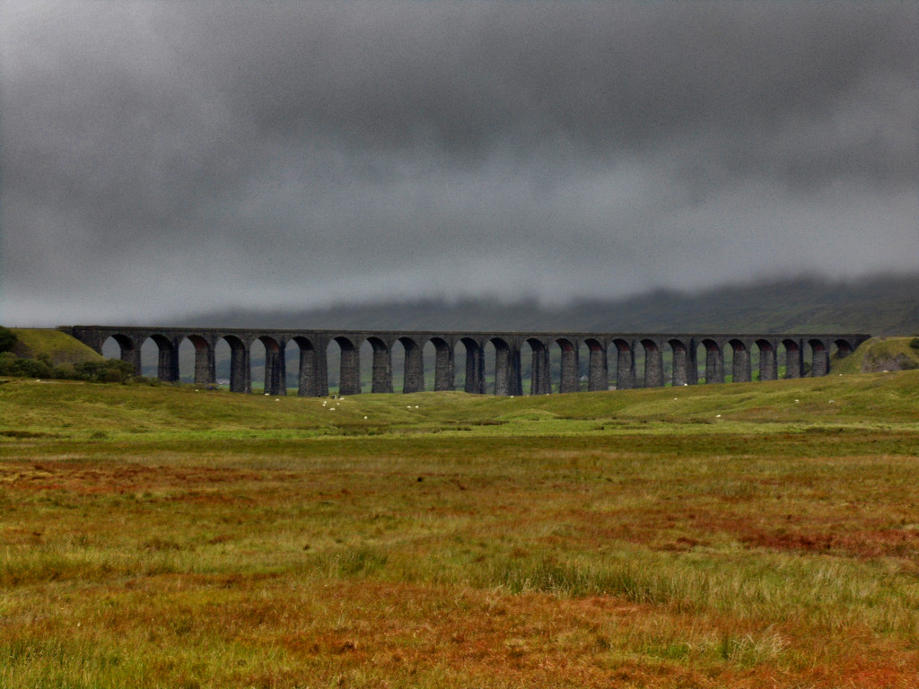 Ribblehead Viaduct by grizzlyadventures