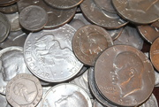 13th Sep 2020 - Silver coins