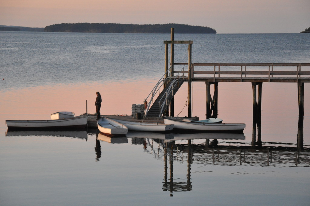 Early morning on the dock by sailingmusic