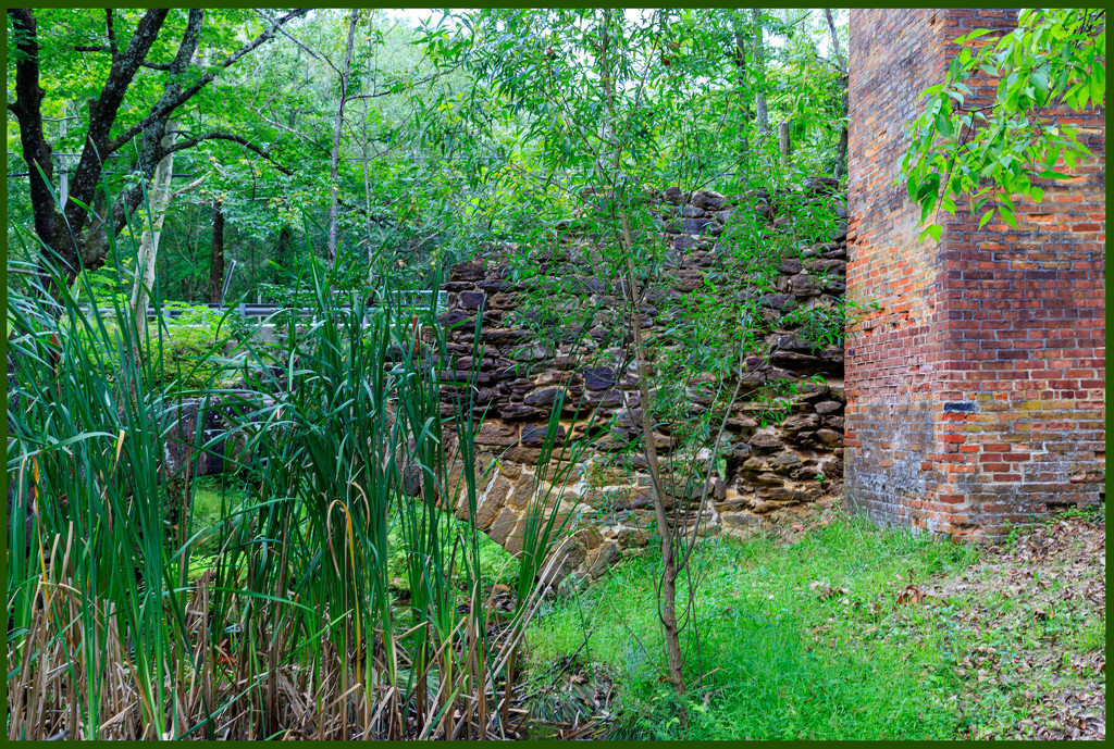 Remnant of Weymouth Furnace by hjbenson
