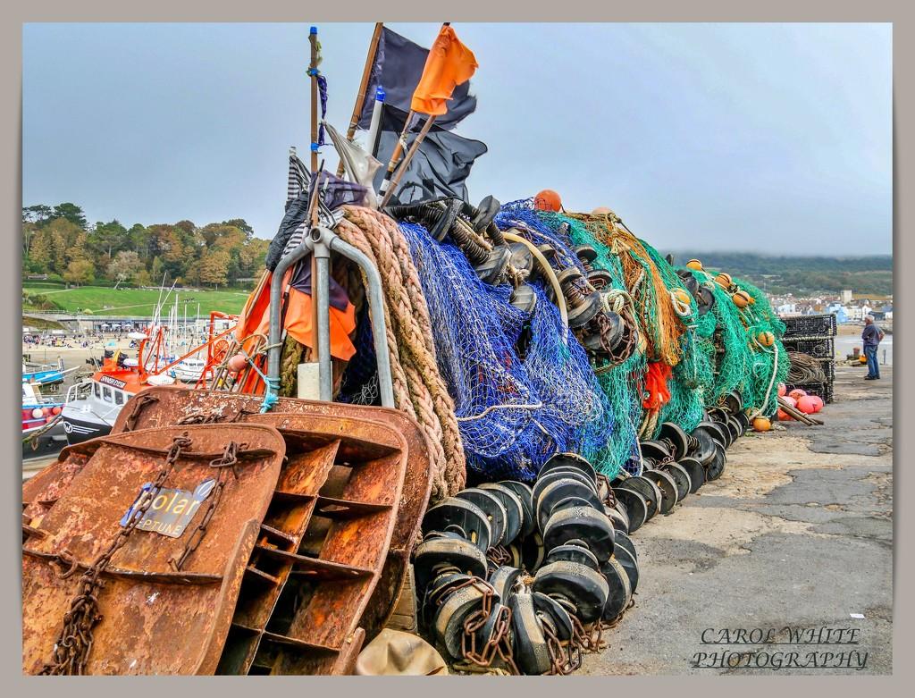 Fishing Tackle,Lyme Regis by carolmw