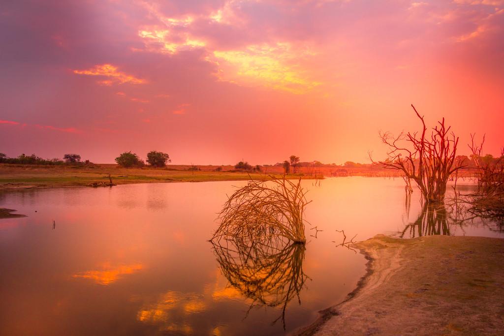 Watery Expanse  by zambianlass