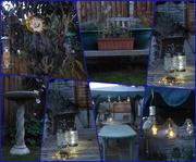14th Sep 2020 - Garden After Dusk Past Its Best!