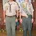 Scoutmaster and newest Eagle Scout