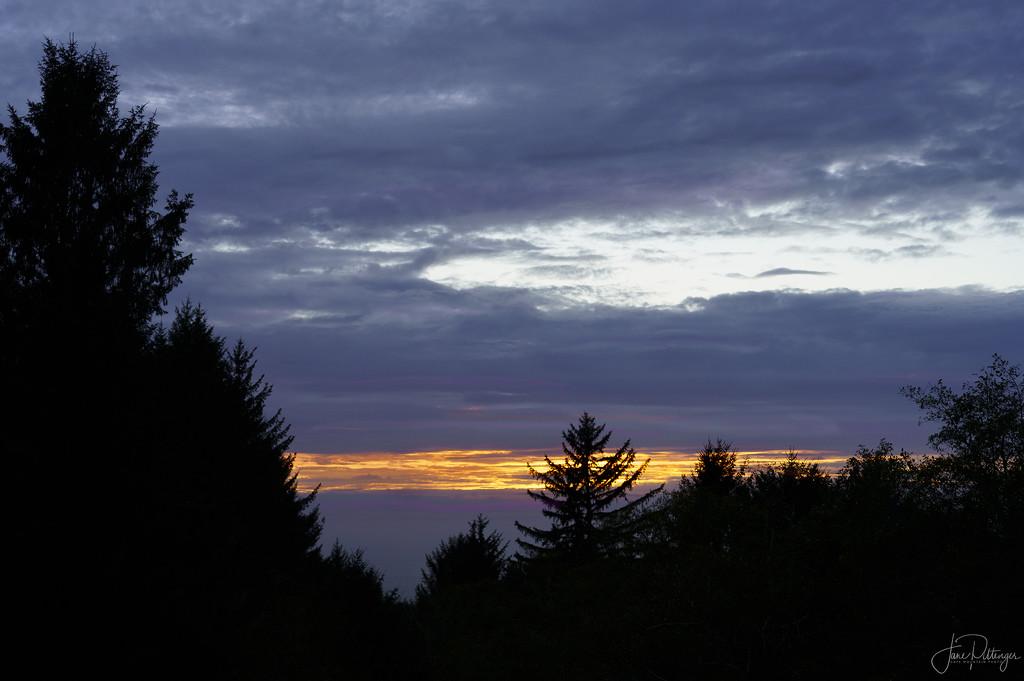 Sunset After the Smoke  by jgpittenger