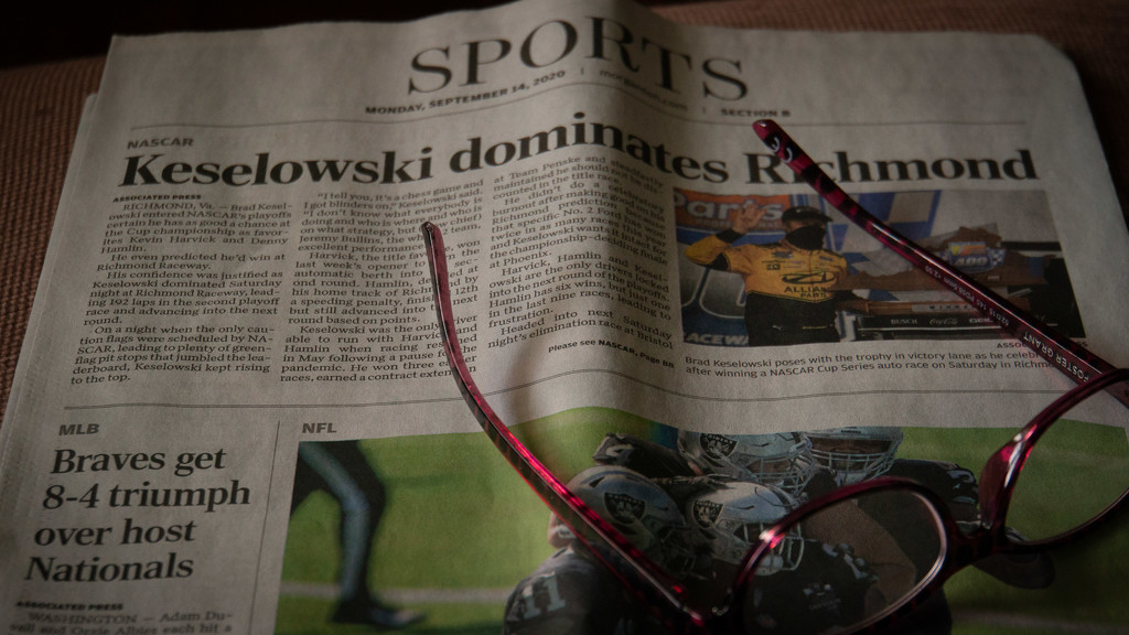 Sports page by randystreat