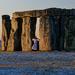 0915 - Druid welcoming sunrise at Stonehenge