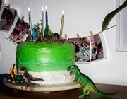 4th Sep 2020 - A cake for dinosaurs