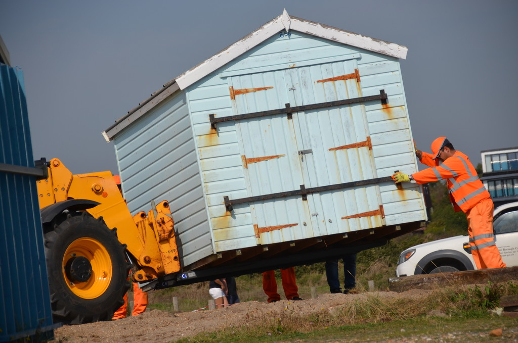 Machine versus Man in shed challenge  by wakelys