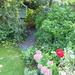 the garden arbor