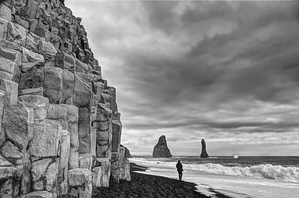 Reynisfjara Black Sand Beach  by pdulis