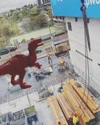 17th Sep 2020 - Big red the dinosaur