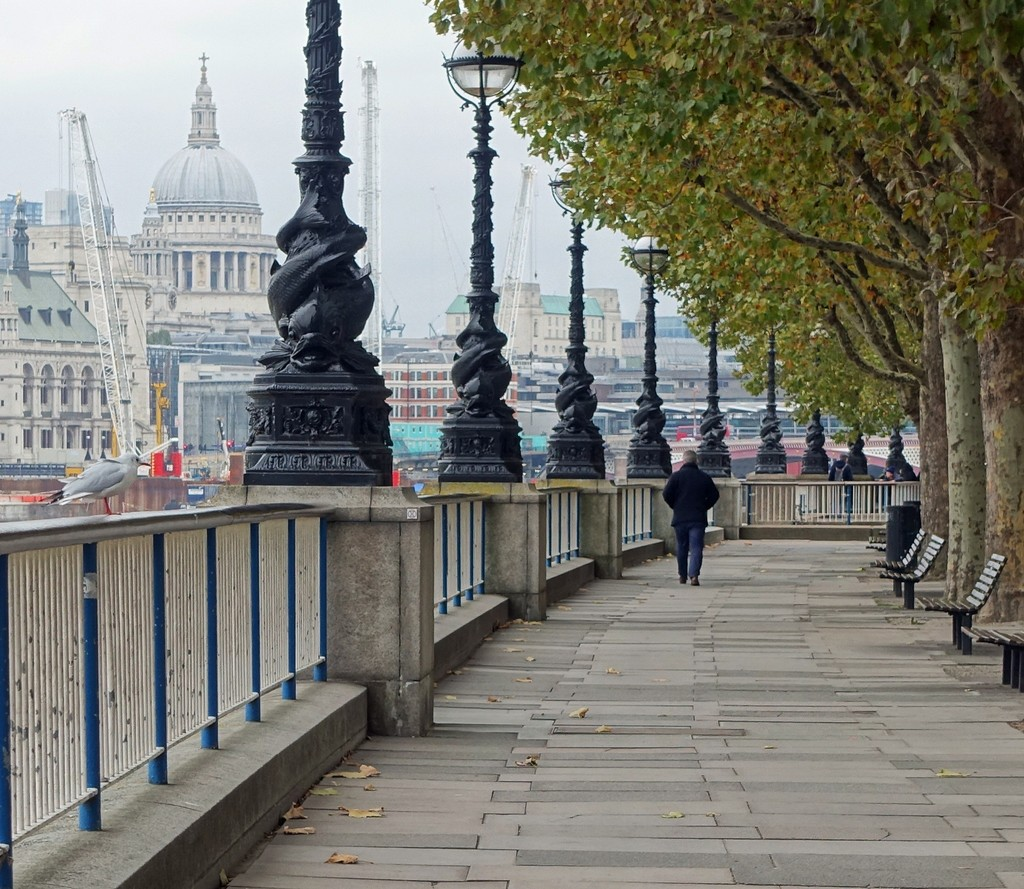 The Embankment in London by mave