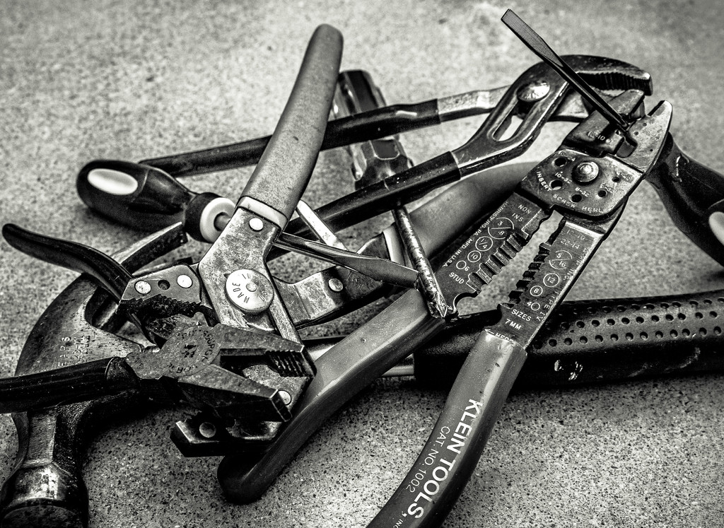 (Day 216) - Tool Tangle by cjphoto