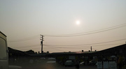 16th Sep 2020 - Smoke blows in across the country...
