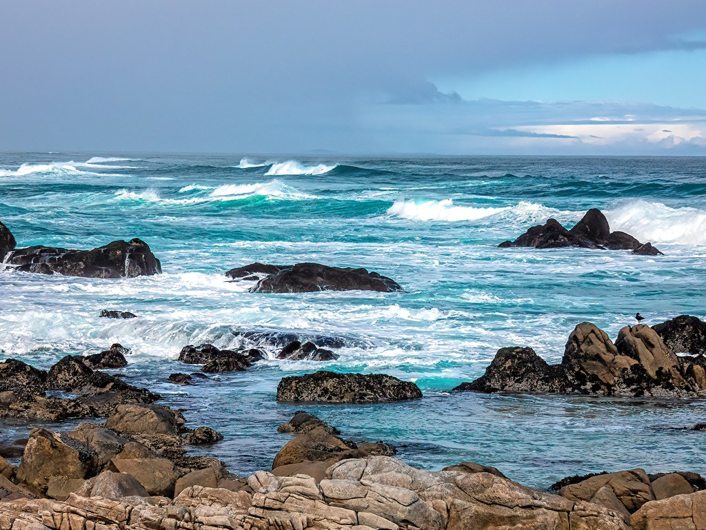The wild Atlantic Ocean  by ludwigsdiana