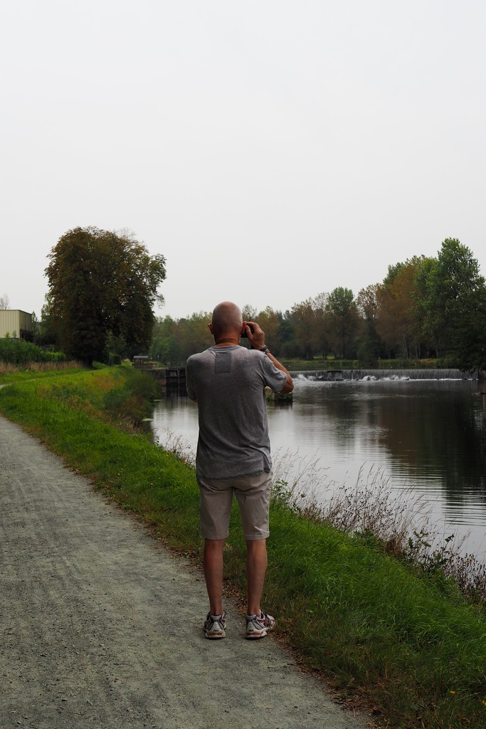 Photograph of a Photographer  by s4sayer