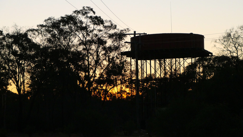 sunset Myall Park by hrs