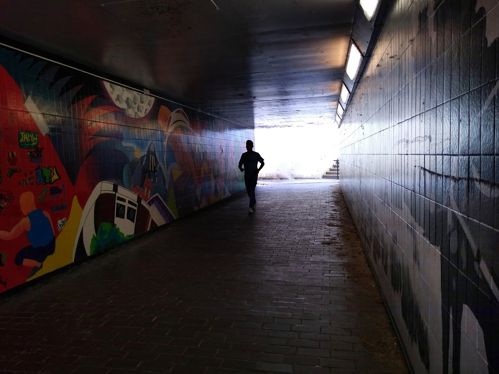 Subway Silhouette by 30pics4jackiesdiamond