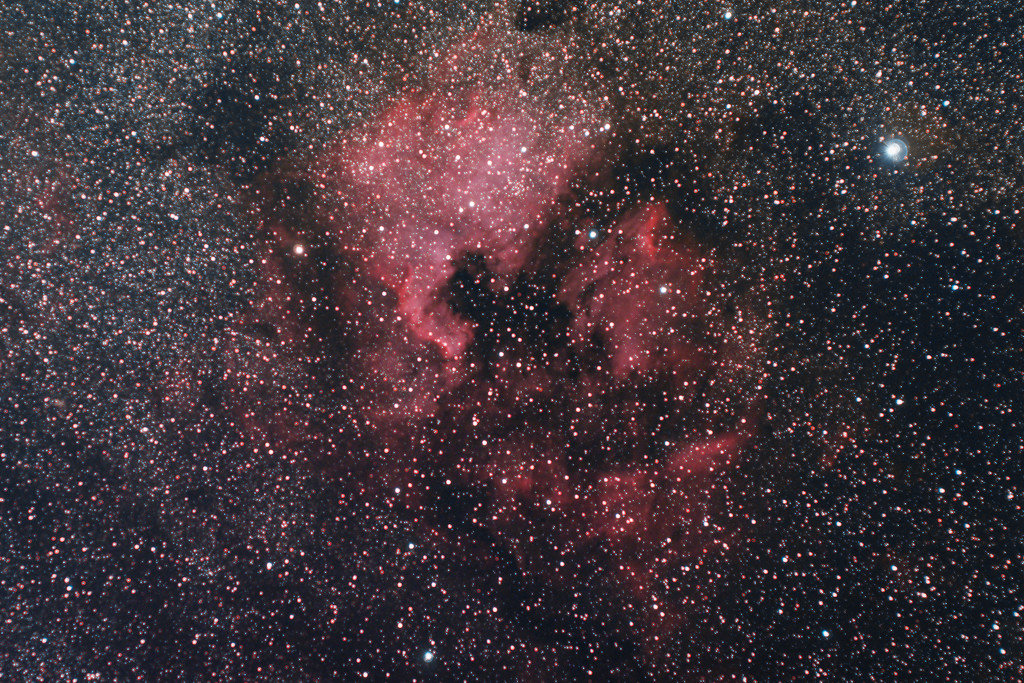 NGC7000 by humphreyhippo