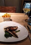 9th Sep 2020 - Seared mackerel fillets