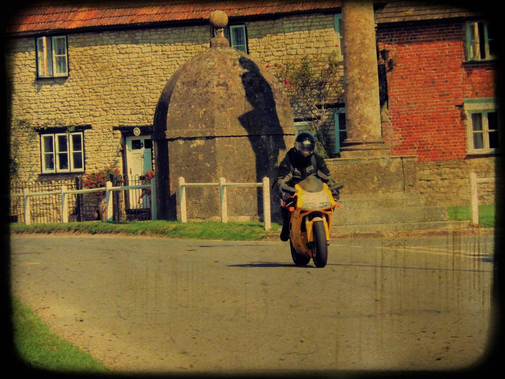 Retro Rider by ajisaac
