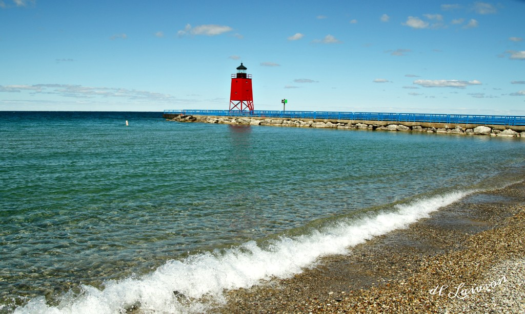Charlevoix Lighthouse  by flygirl