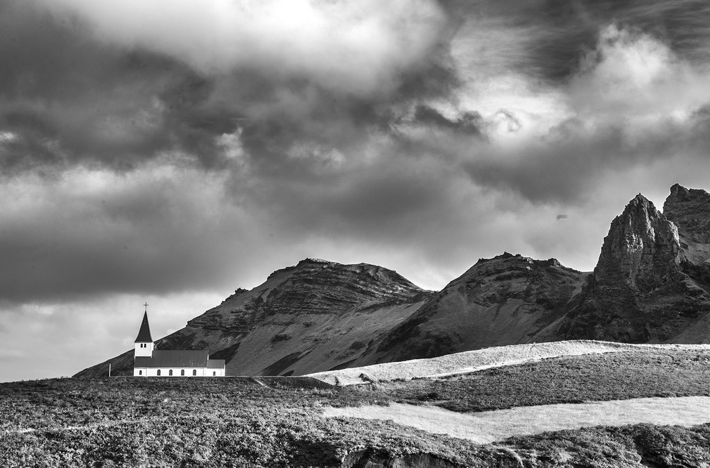 Vik i Myrdal Church by pdulis