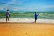 20th Sep 2020 - Beach Fishing