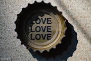 20th Sep 2020 - Message inside my bottlecap