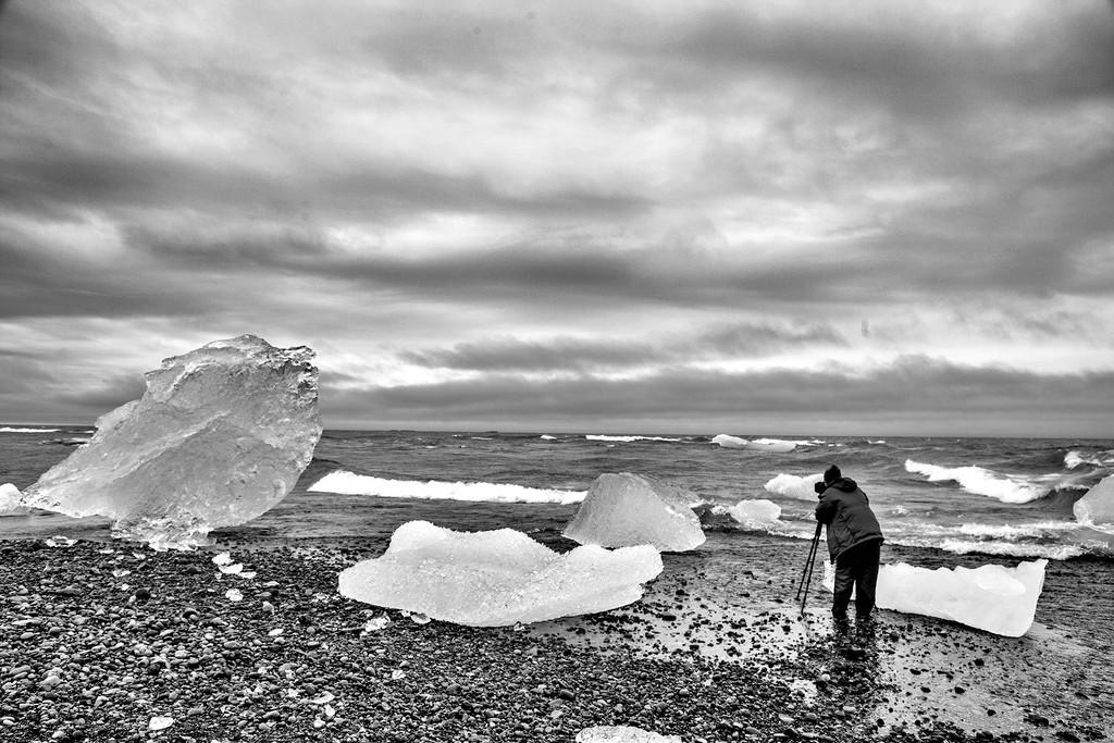 Diamond Beach Iceland by pdulis