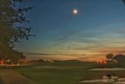 22nd Sep 2020 - Moon following the setting sun.