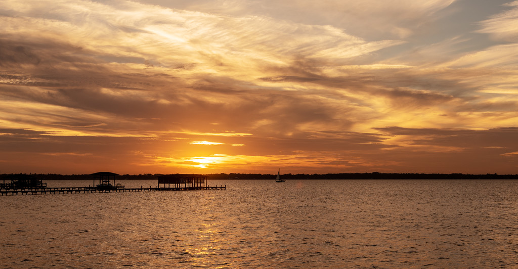 Sunset Over the Piers! by rickster549