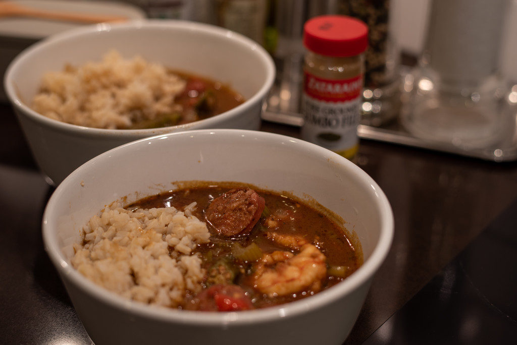 Gumbo for Pat and Dick by johnnychops