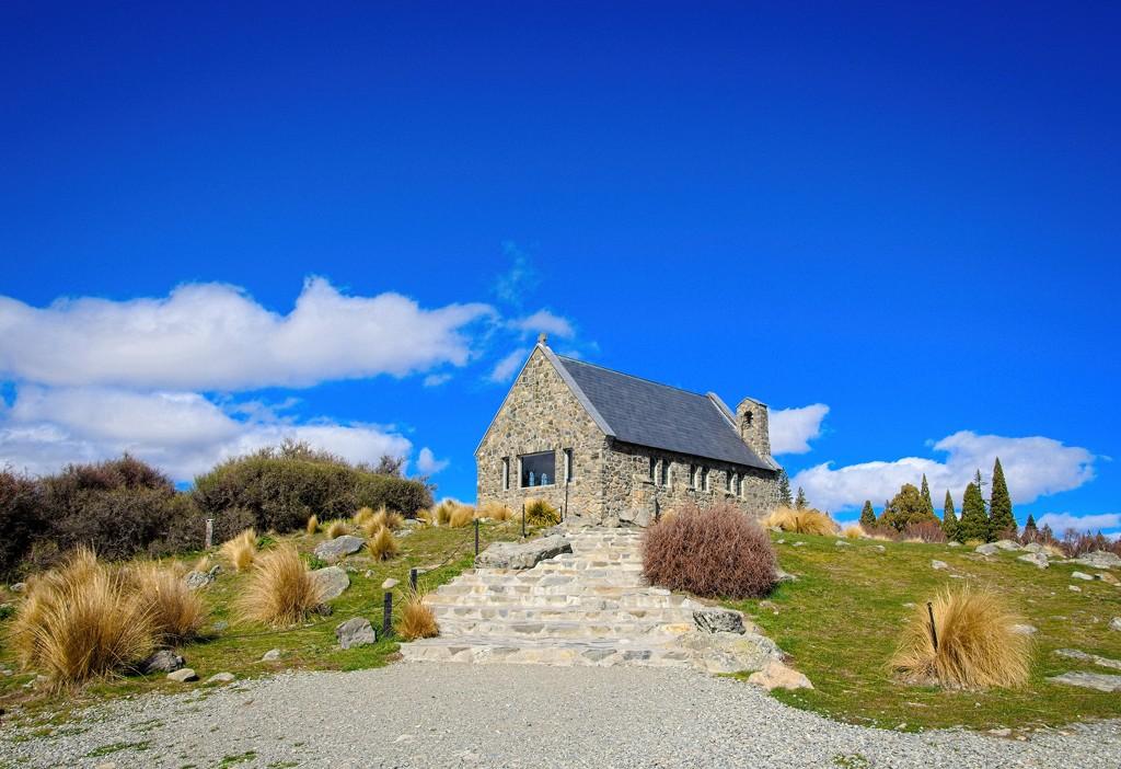Church of the Good Shepherd - Lake Tekapo by kiwinanna