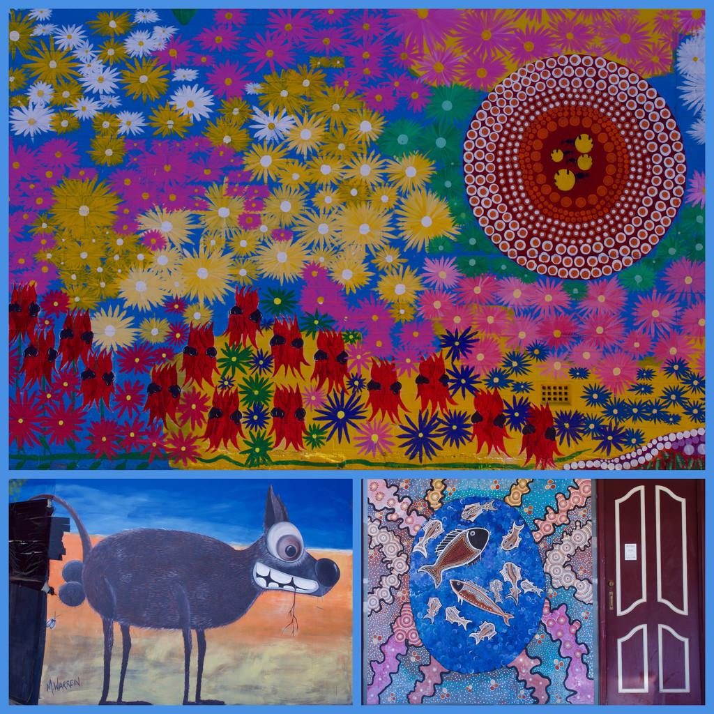 Kalgoorlie Street Art by merrelyn