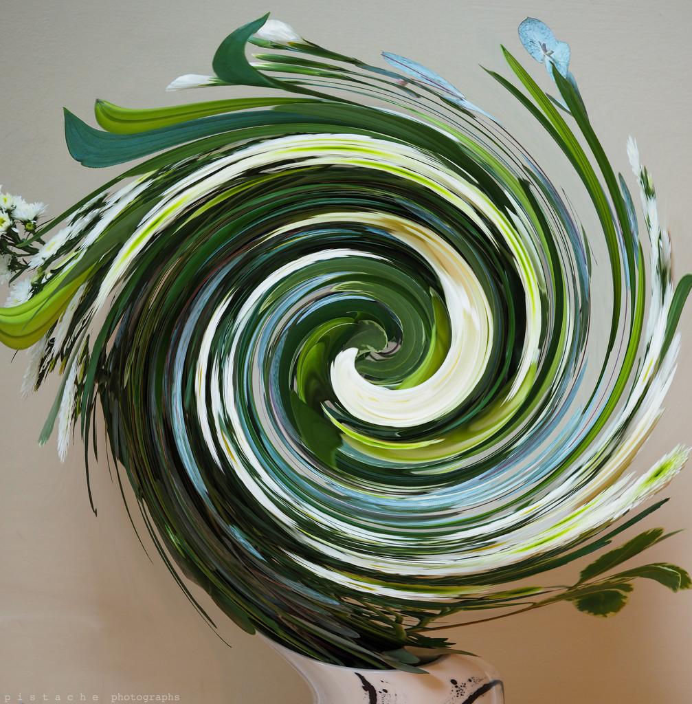 vase swirl by pistache
