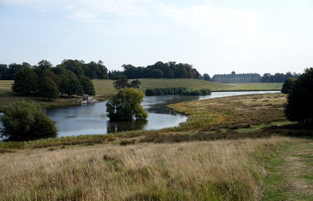 Sept 19th Petworth House and Lake by valpetersen