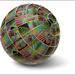 Rainbow Slinky Globe