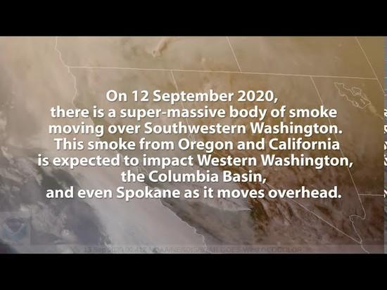 24th Sep 2020 - Washington State Smoke Alert