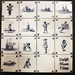 Tiny Delft Blue Tiles