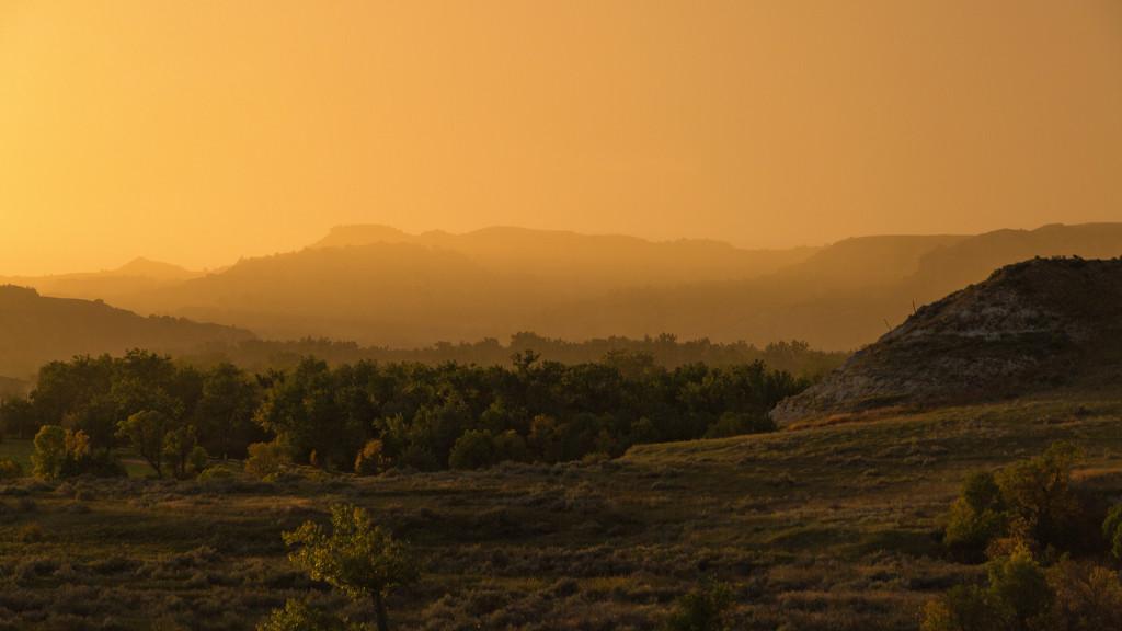 Sunset Over North Dakota by photograndma