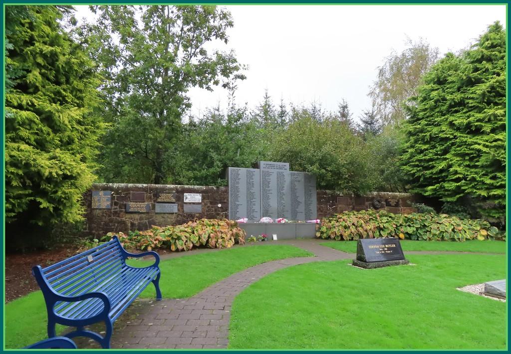 Lockerbie Air Disaster Memorial Scotland by loey5150