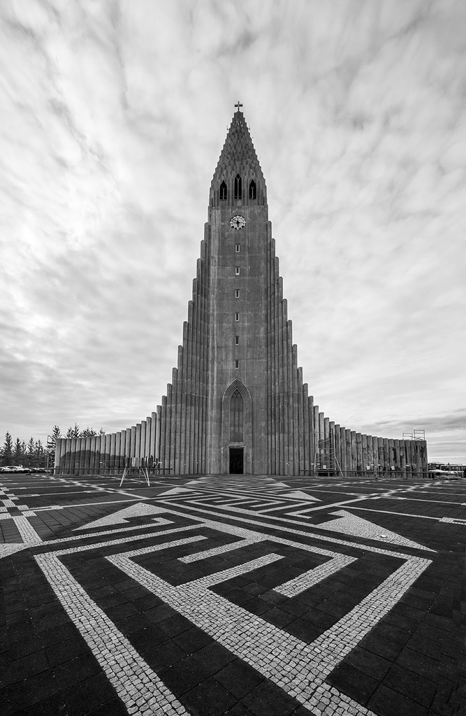 Reykjavik Church by pdulis