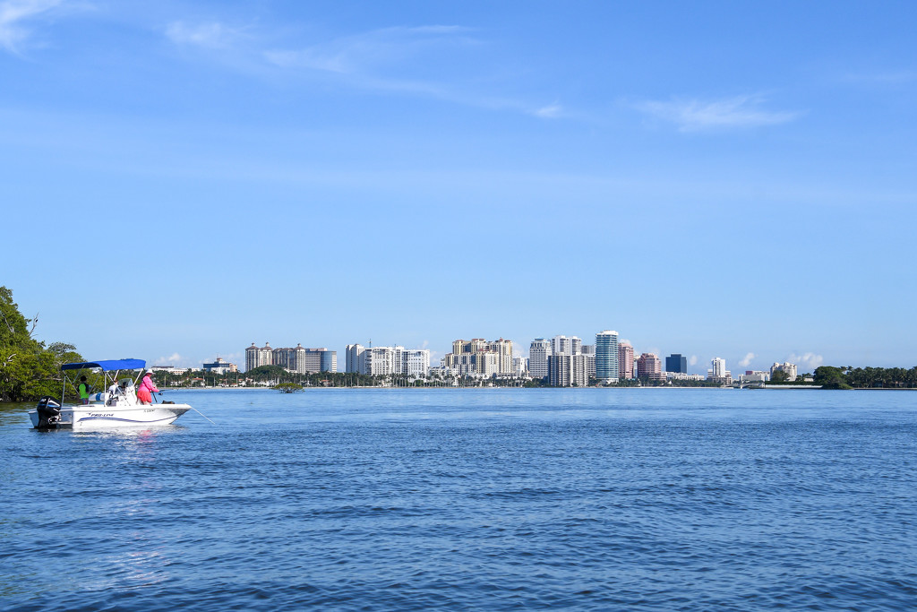 Downtown West Palm Beach by danette