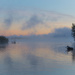 Misty Morning on Lake Opeongo
