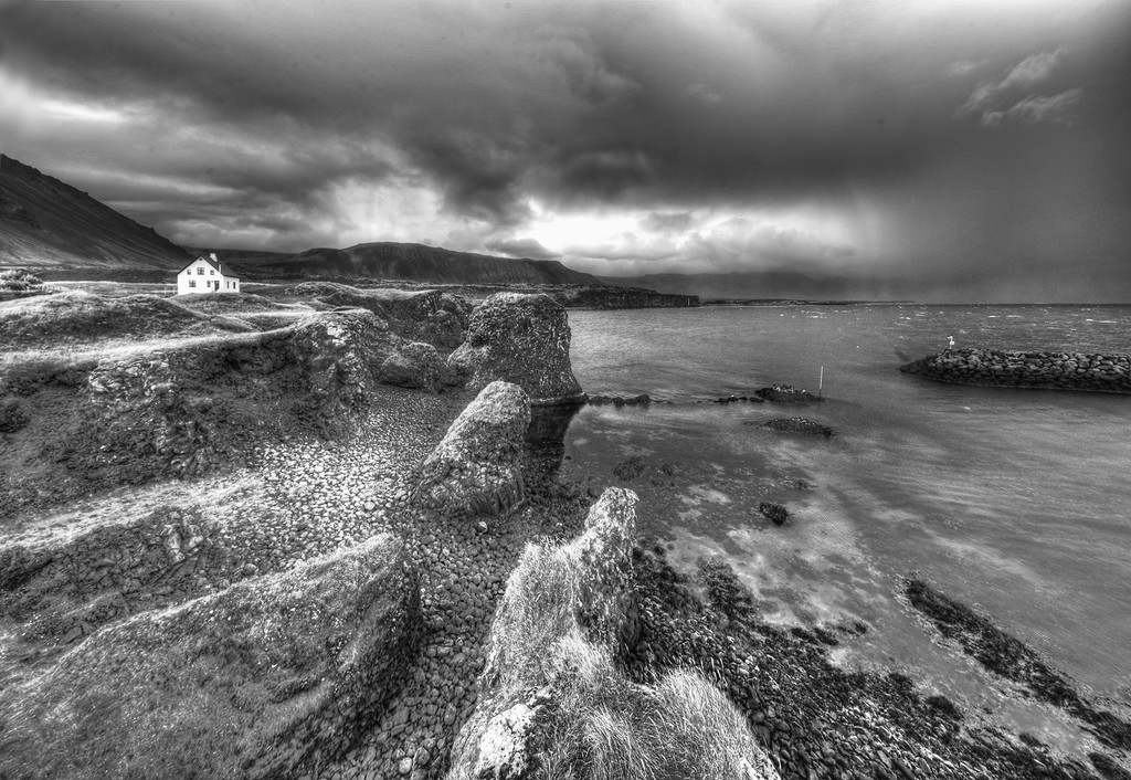 Village of Arnarstapi Iceland by pdulis
