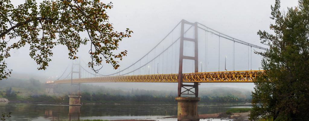 Misty Dunvegan Bridge by farmreporter
