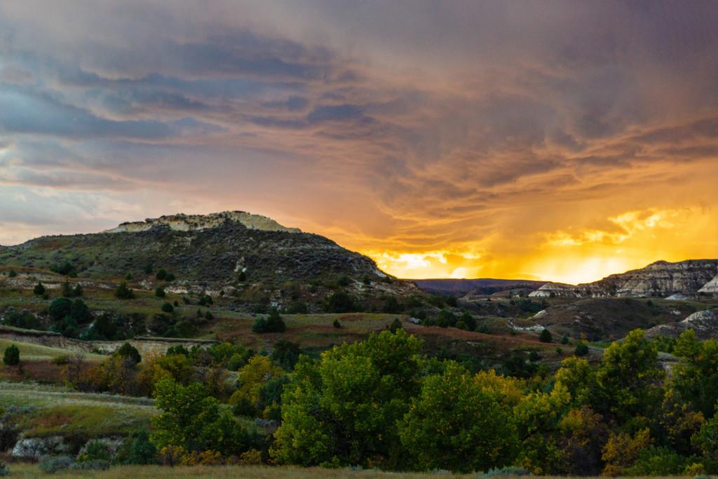 Sunset in North Dakota by photograndma