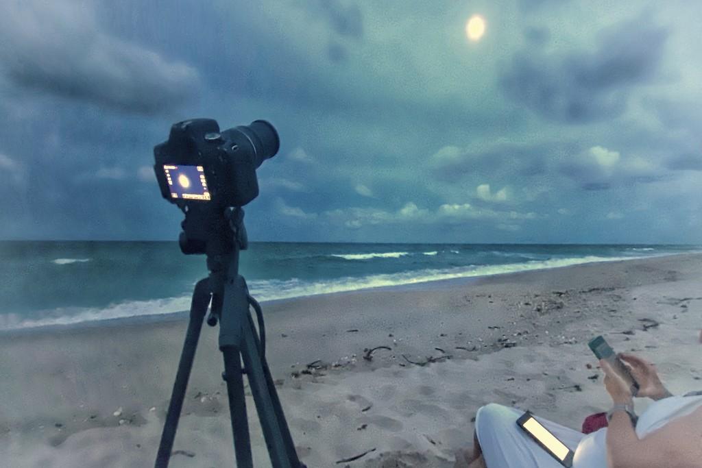 Shooting the moon  by joesweet